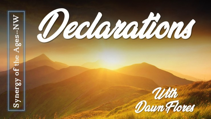 Apr  29th, 2019 Declarations: Pursue the Lord in Holiness