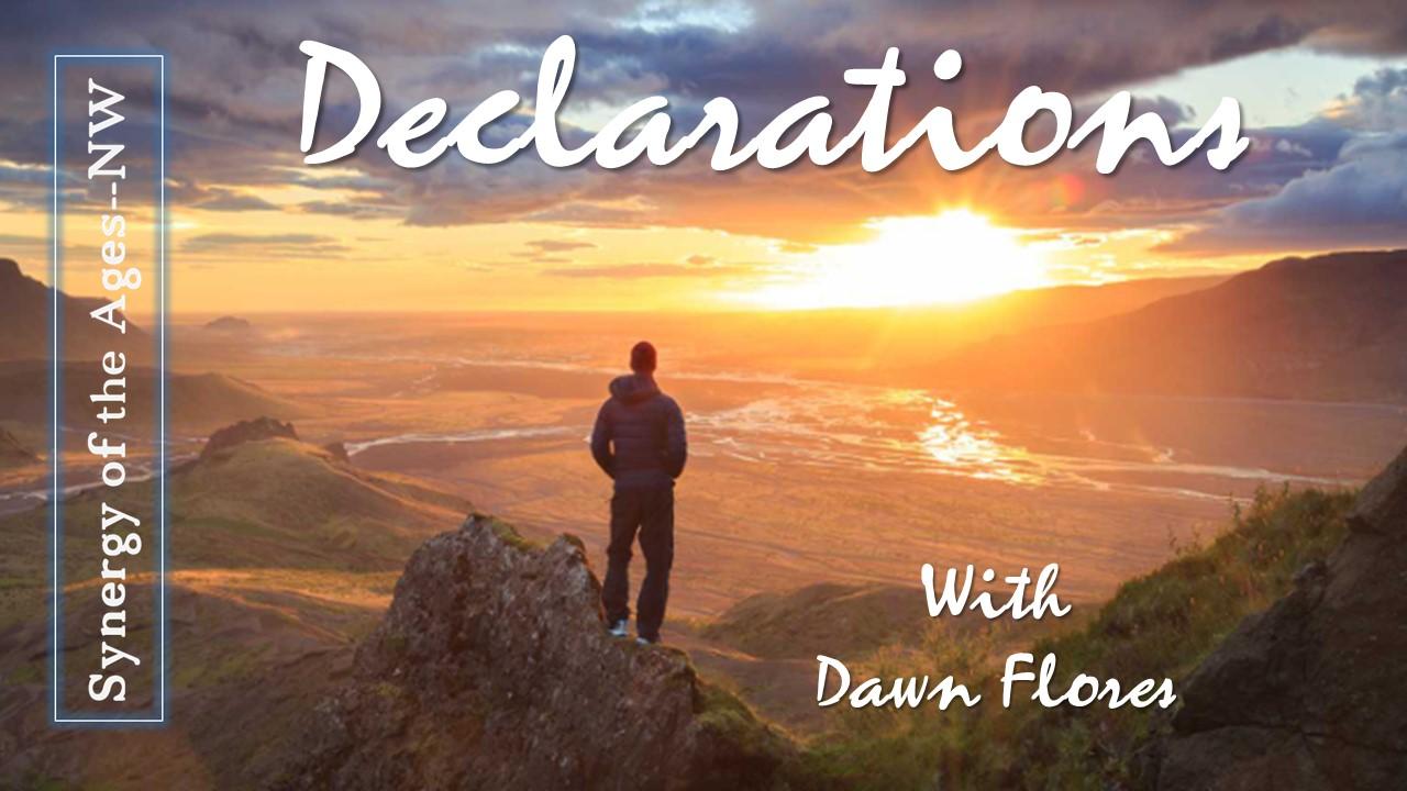 Dec  14th, 2018 Declarations: God Exalts Those Who Wait on